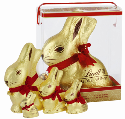 Can I Eat It iPhone App lets you know what is in the Lindt Gold Bunny Milk Chocolate