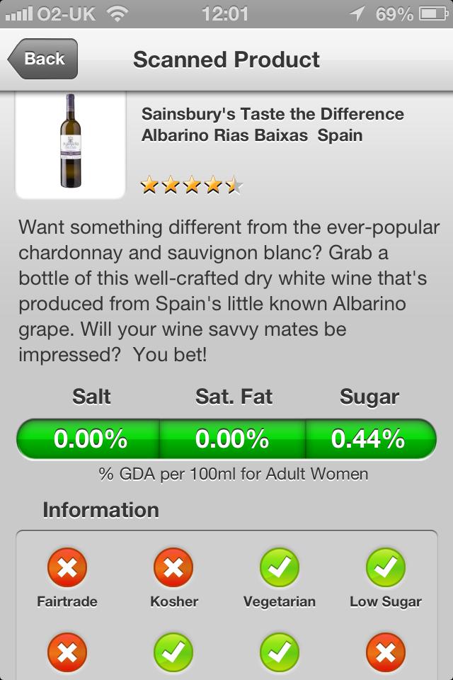 Martin Isark has tasted Sainsbury's Taste the Difference Albarino …