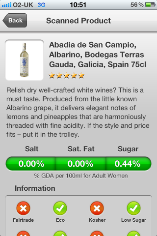 Can I Eat It iPhone App lets you know what is in the Abadia de San Campio