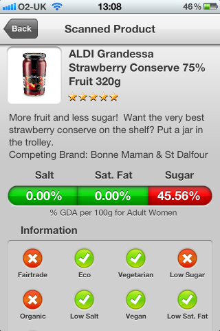 LIDL Maribel Blackcurrant Extra Jam Conserve